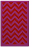 rug #354821 |  red stripes rug