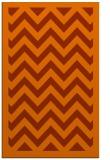 rug #354825 |  red-orange borders rug