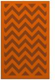 rug #354833 |  red-orange borders rug