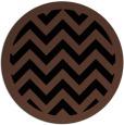 rug #354937 | round brown rug