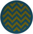 rug #354982 | round retro rug