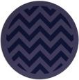 rug #355005   round blue-violet rug