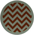 rug #355124   round borders rug
