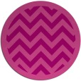 rug #355129   round pink borders rug