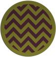 rug #355149 | round purple retro rug