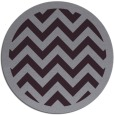 rug #355157   round purple stripes rug