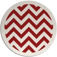 rug #355169 | round red rug