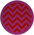 rug #355173 | round red stripes rug