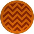 rug #355177   round red-orange borders rug