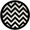 rug #355193 | round white popular rug