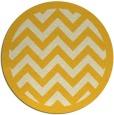 rug #355209 | round yellow borders rug
