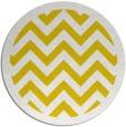 rug #355221 | round yellow borders rug