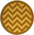 rug #355225 | round light-orange borders rug