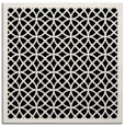 rug #355629 | square black circles rug