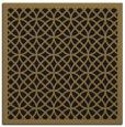 rug #355645 | square brown borders rug