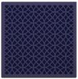 rug #355709 | square blue-violet borders rug