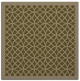 rug #355745 | square mid-brown borders rug