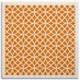 rug #355817   square orange circles rug