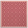 rug #355841 | square pink circles rug
