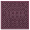 rug #355849 | square purple circles rug