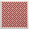 rug #355873 | square red borders rug