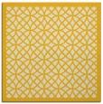 rug #355913   square yellow circles rug