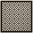 rug #355921   square brown rug
