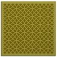 rug #355945 | square light-green borders rug