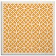 rug #355973 | square light-orange borders rug