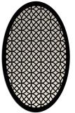 rug #356053   oval blue-green circles rug