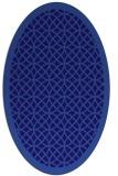 rug #356082 | oval borders rug