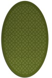 rug #356102 | oval borders rug