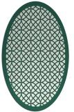 rug #356110 | oval circles rug