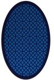 rug #356145 | oval circles rug