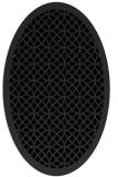 rug #356252 | oval geometry rug