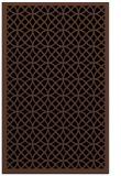 rug #356345 |  brown rug