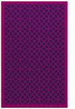 rug #356357 |  blue circles rug