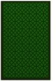 rug #356397    green circles rug