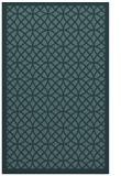 rug #356401 |  blue-green borders rug