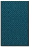 rug #356409 |  blue circles rug