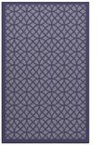 rug #356417    blue-violet borders rug