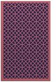 rug #356421 |  blue-violet circles rug