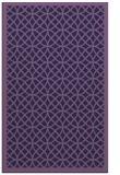 rug #356425    purple circles rug