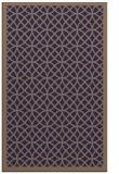 rug #356437 |  blue-violet circles rug