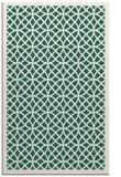 rug #356461    green circles rug