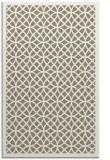 rug #356469 |  mid-brown borders rug