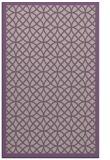 rug #356509 |  purple circles rug