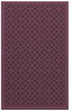 rug #356553    purple borders rug