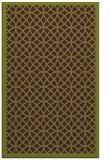 rug #356557 |  green borders rug