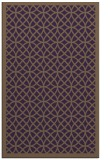 rug #356561 |  purple circles rug